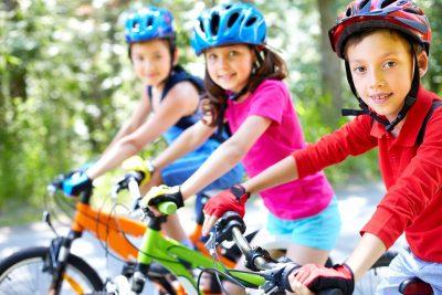 deti na bicykloch