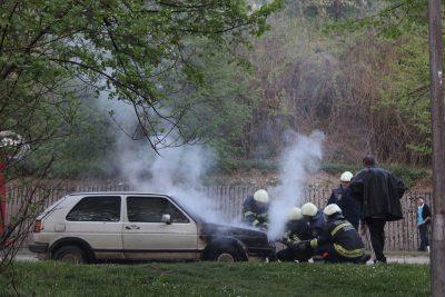 požiar auta